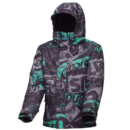 Quiksilver Next Mission Youth Print Snowboard Jacket (Boys') -