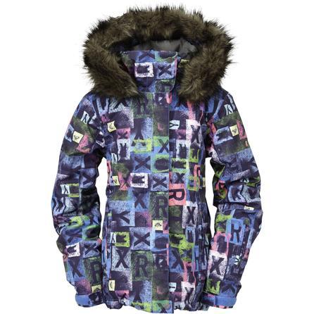Roxy Jet Set Insulated Snowboard Jacket (Girls') -