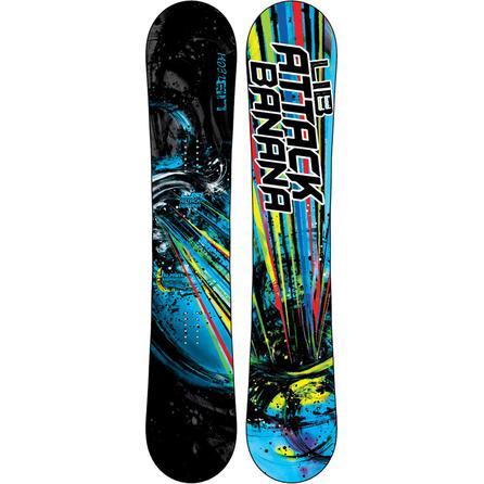 LibTech Attack Banana EC2-BTX Wide Snowboard (Men's) -