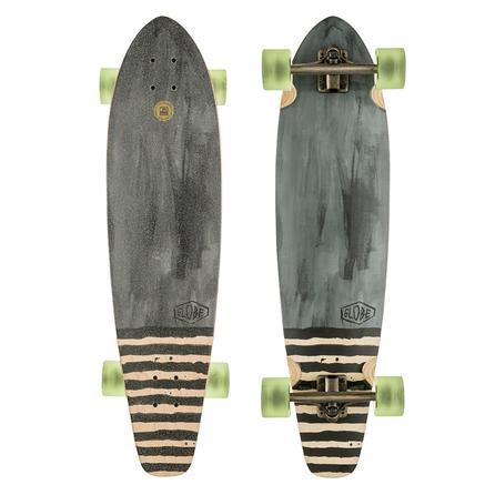 Globe Arcadia Cruiser Longboard Skateboard - Charcoal