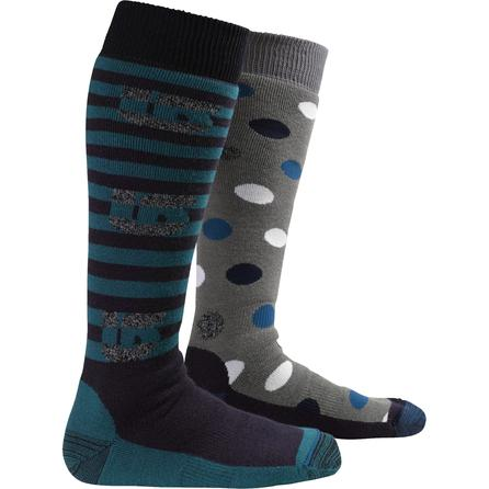 Burton Weekender 2-Pack Snowboard Socks (Women's) -