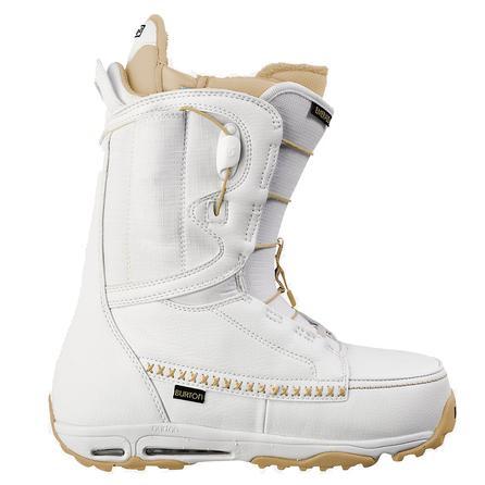 Burton Emerald Snowboard Boot (Women's) - White/Gray