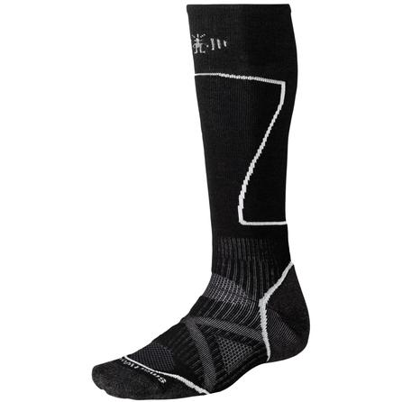 SmartWool PhD Ski Medium Ski Sock (Men's) - Black