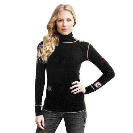 Alp-N-Rock Edelweiss Turtleneck Top (Women's)  -