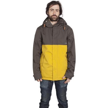 Holden Refuge Insulated Snowboard Jacket (Men's) - Flint/Sunrise