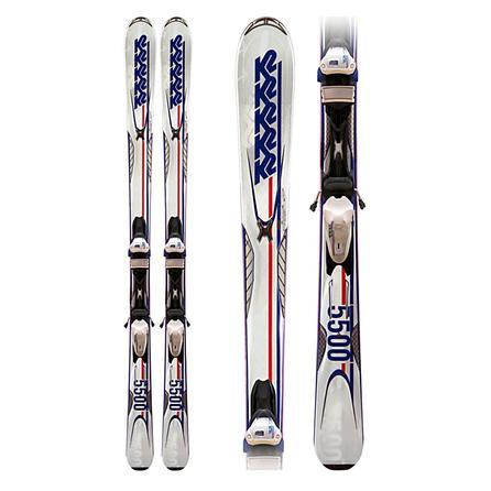 K2 Impact 5500 50th Anniversary Ski System with Bindings (Men's) -