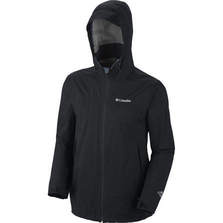 Columbia Tracer Racer Shell Ski Jacket (Men's) - Black