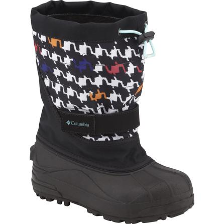 Columbia Powderbug Plus II Print Boot (Toddlers') -