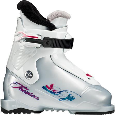 Tecnica JT 1 Ski Boot (Little Kids') - White/White