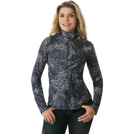 Sno Skins Twisted Print Zip Top (Women's) -