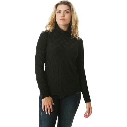 Sno Skins Chevron Turtleneck Top (Women's) -