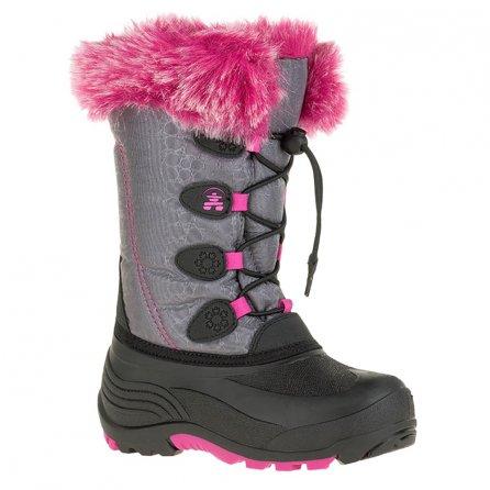 Kamik Snowgypsy Boot (Girls') - Grey/Magenta