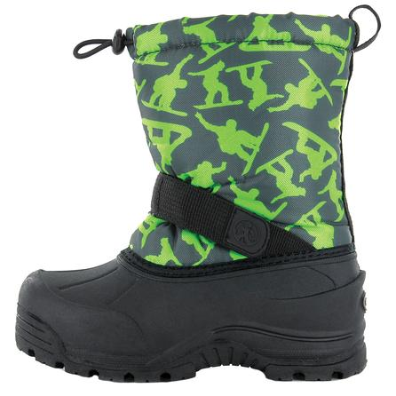 Northside Frosty Boot (Kids') - Dark Gray/Green