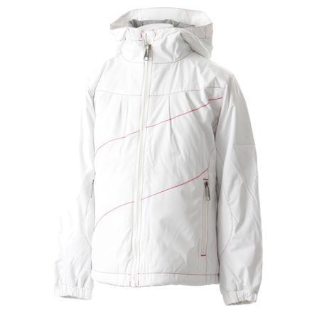 White Sierra Snow Crystal Ski Jacket (Girls') -