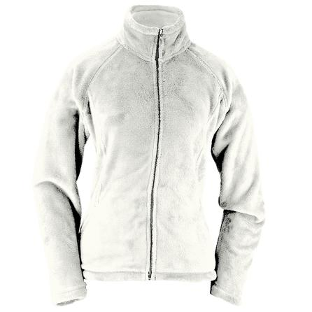 White Sierra Cozy Fleece Jacket (Women's) - Cloud