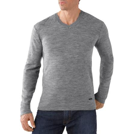 SmartWool Capitol Peak V-Neck Sweater (Men's) -