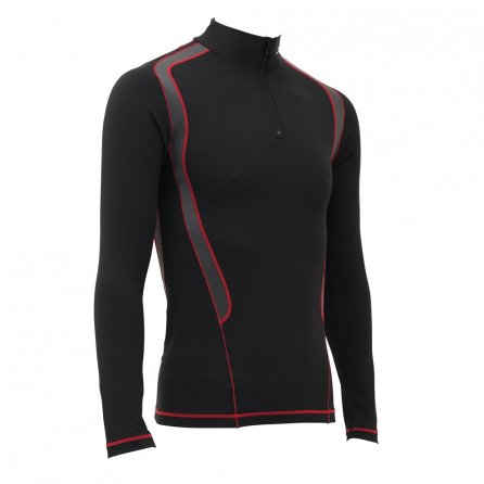 CW-X Insulator Web Baselayer Top (Men's) - Black/Gray/Red
