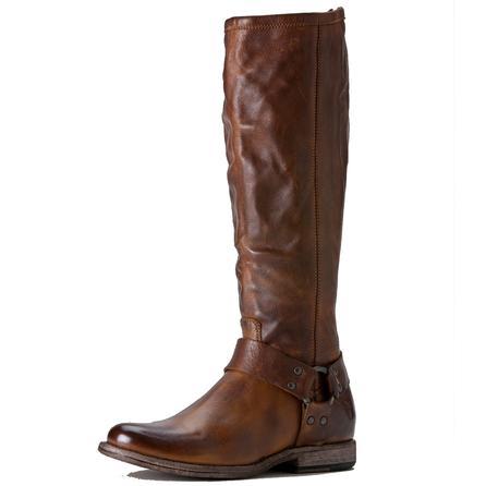Frye Phillip Harness Tall Boot (Women's) - Cognac