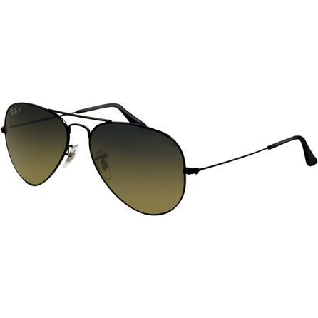 Ray-Ban Aviator Large Metal Polarized Sunglasses  -