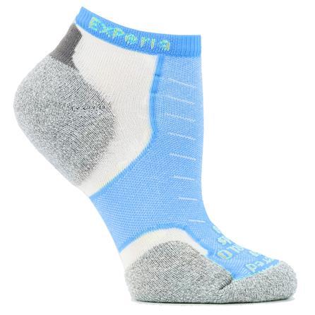 Thorlo Experia Micro Mini Crew Running Sock (Adults') - Turquoise