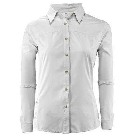 White Sierra Gobi Desert Long Sleeve Shirt (Women's) -