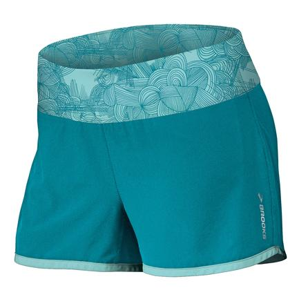Brooks Glycerin 2-in-1 3.5-inch Running Shorts (Women's) -
