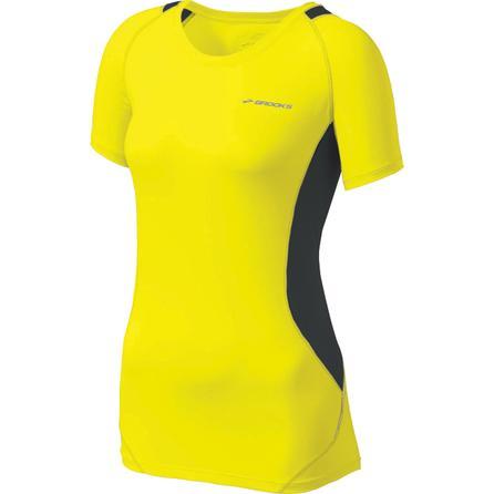 Brooks Nightlife Equilibrium SS Running Shirt (Women's) -