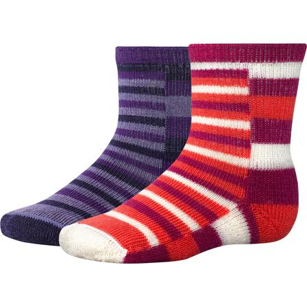 SmartWool Tots Split Stripe Sock (Toddlers') -