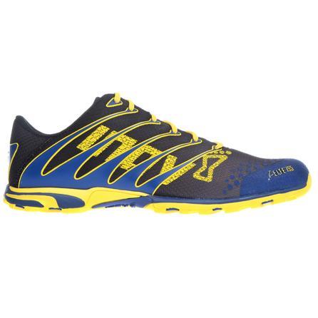 Inov8 F-Lite 195 Running Shoe (Adults') - Gray/Blue/Yellow
