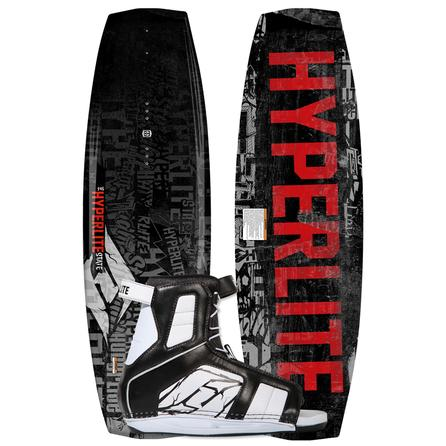 Hyperlite 130 State Wakeboard Package with 7-10.5 Remix Boots (Men's) -