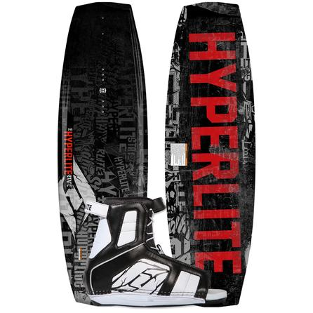 Hyperlite 135 State Wakeboard Package with 7-10.5 Remix Boots (Men's) -