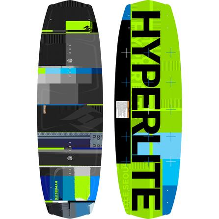 Hyperlite 129 Forefront Wakeboard Package with 4-8 Remix Boots (Men's) -