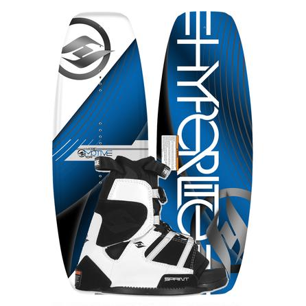 Hyperlite 109 Motive Wakeboard Package with 12-5 Sprint Boots (Kids') -