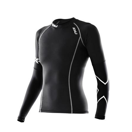 2XU Thermal Compression BaselayerTop (Women's) - Black/Black