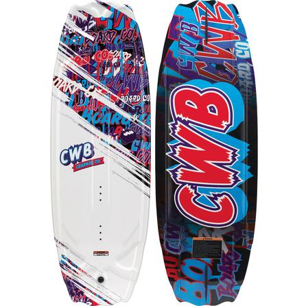 CWB Charge Wakeboard Package with 5-8 Seven Boots (Kids') -