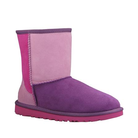 UGG Classic Patchwork Boot (Youth Girls') -
