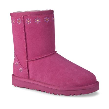 UGG Classic Embroidery Boot (Youth Girls') -