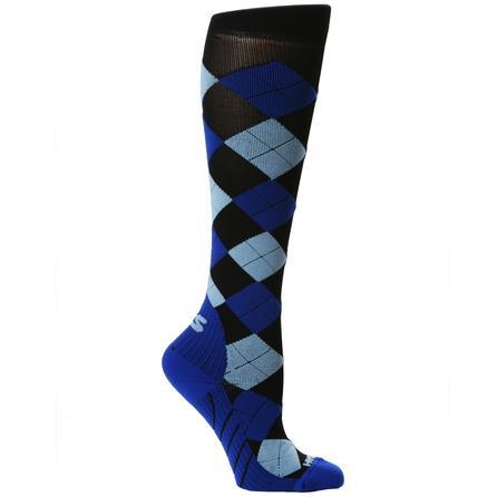 Zensah Argyle Compression Sock (Adults') -