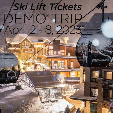 Aspen Lift Tickets for Peter Glenn 2016 Demo Ski Trip -