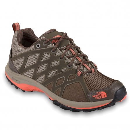The North Face Hedgehog Guide GORE-TEX Shoe (Women's) - Dune Beige/Electro Coral Orange