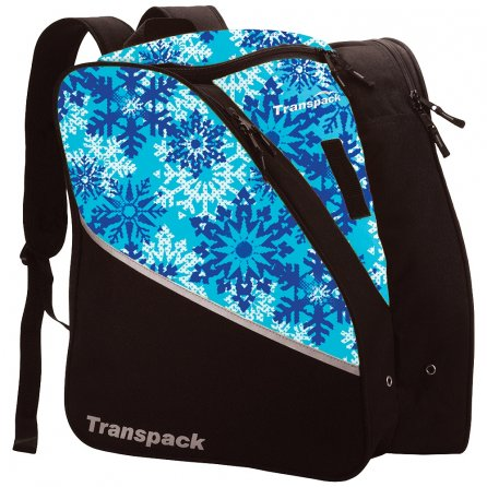 Transpack Edge Jr Print Boot Bag (Kids') - Aqua Snowflake
