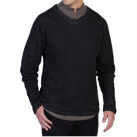 ExOfficio Ruvido V-Neck Sweater (Men's) - Black