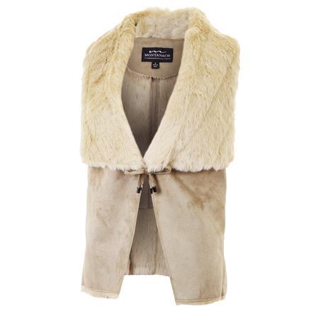 Montanaco Drape Vest (Women's) - Cream