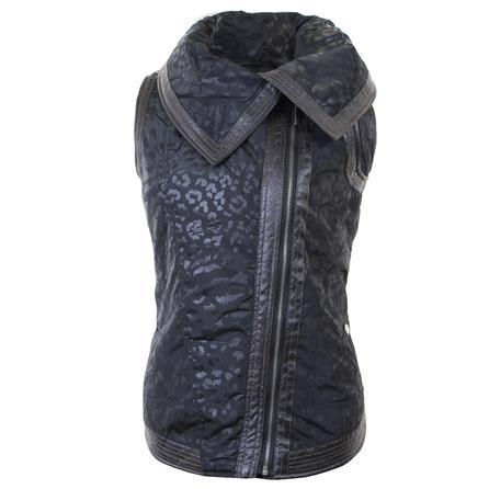 Montanaco Leopard Vest (Women's) - Black