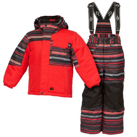 Jupa Nikolai 2-Piece Ski Suit (Toddler Boys') - Tomato Check Print