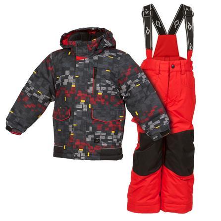 Jupa Yurii 2-Piece Ski Suit (Toddler Boys') - Polish Grey