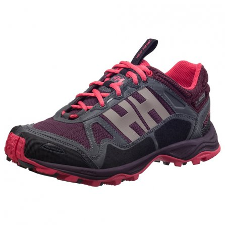 Helly Hansen Pace Trail HTXP Running Shoe (Women's) - Midnight Rose/Magenta/Charcoal