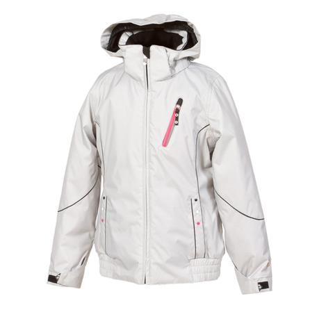 Jupa Elena Ski Jacket (Girls') - Light Grey Mix