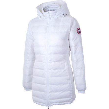 Canada Goose Camp Hooded Down Jacket (Women's) - White
