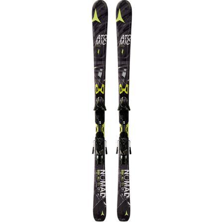 Atomic Smoke Ti Ski System with Bindings -